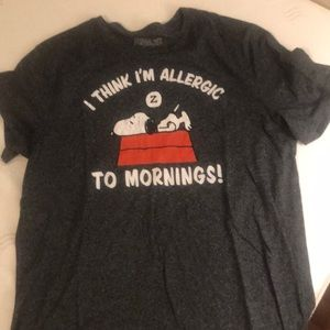 Other - Snoopy Sleeping T-shirt